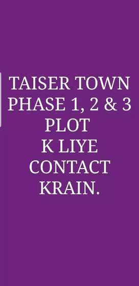Taiser Town Scheme 45 Phase 1 ,2 & 3. 80, 120 ,240 or 400 ghz k plots