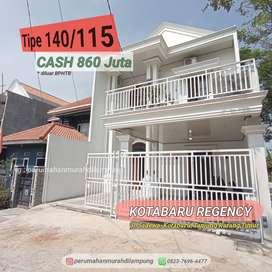 Rumah 2 Lantai Mewah dekat Pusat Kota Bandar Lampung