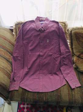 Ben Sherman Gingham Checkered Shirt