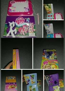 Buku Anak Boardbook Cican My Little Pony Free Papan Pena