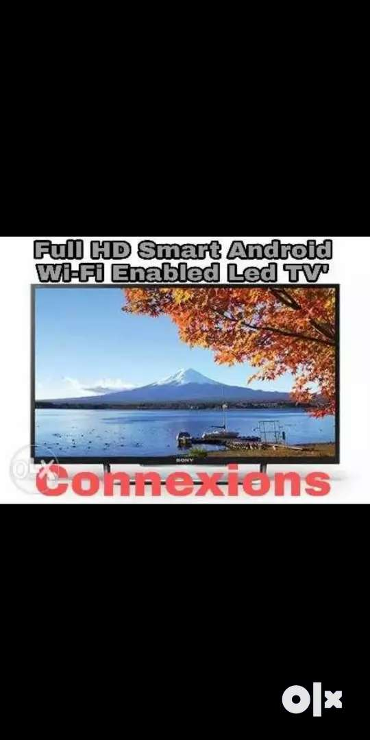 (Sale) 40inch Full HD Sony Panel Black Flat Screen LED TV 0