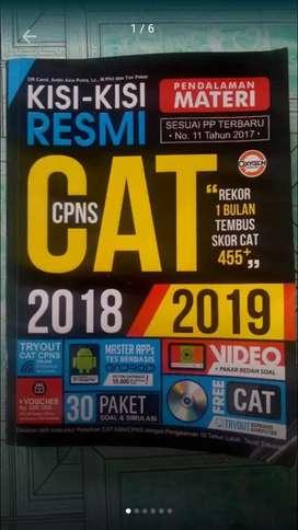 Buku CPNS belum dipakai