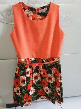 Dress Anak Orange