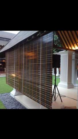 Krey kayu motif outdoor 1151