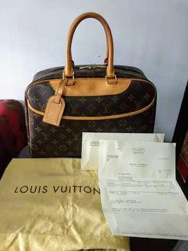 Tas pre-loved Louis Vuitton Deauville Authentic Original