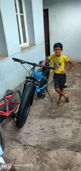 Sturdy gear n foldable cycle