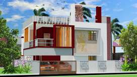 1.30 cores4 BHk luxury bangalow sale in vadavalli