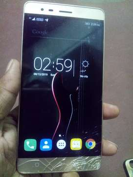 4G volte 4ram only mobile screen broken working condition