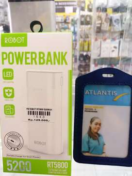 Powerbank robot 5200mah