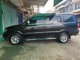 Mobil isuzu panther LV turbo hitam 2012 low KM