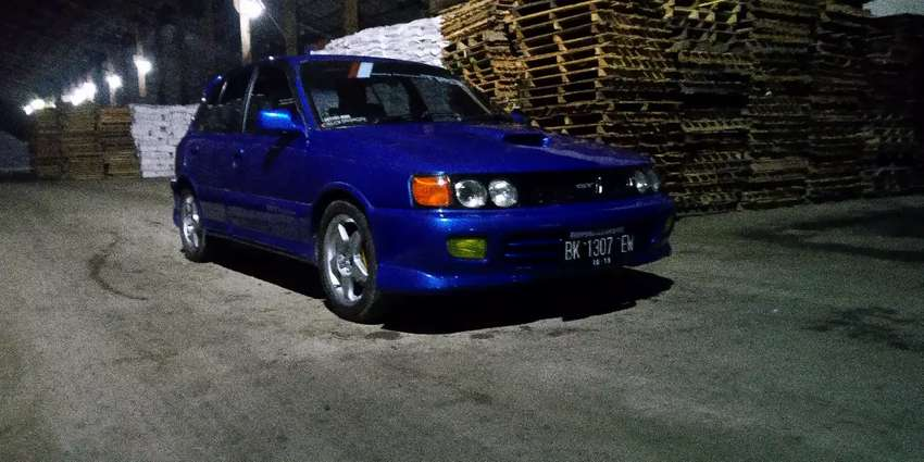 Starlet 1994 swap engine  to GT 0