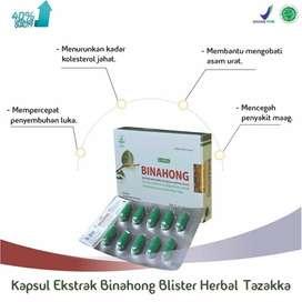 obat herbal blister binahong tazakka isi 20 kapsul
