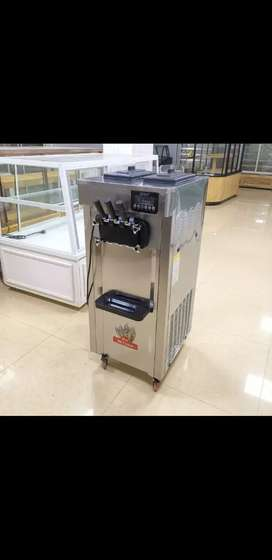 (New)Softy ice cream machine double compressor
