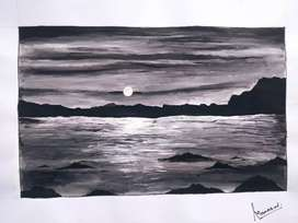 Painting of scenery