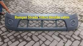 Bumper Triton Double Cabin & Pajero Lama