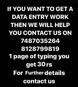 Get data entry job it's genuine work and trusted work