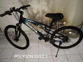Kredit sepeda polygon RAYZ 1 tampa DP