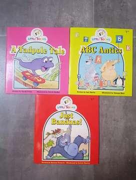 buku cerita import anak set isi 3