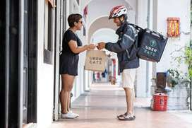 NO SHIFT & NO TARGET -DAILY PAYMENT -UBER EATS DELIVERY JOB