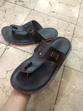 Sandal full kulit asli