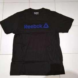 Kaos Reebok hitam original