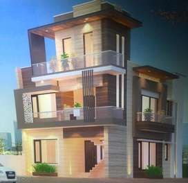 Available 125 sq yd, 4Bedroom, 4Bathroom,Double Storey House for Sale