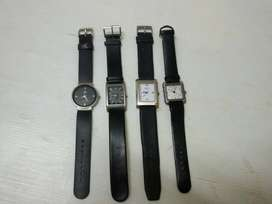 Four Gents Wrist Watches