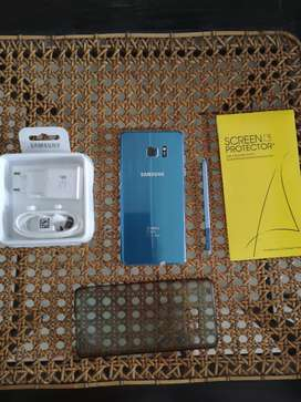 Samsung Note FE Fan Edition Blue Muluss Ex Inter