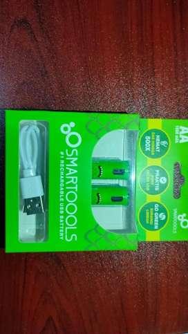 Baterai AAA / AA usb rechargeable