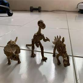 Miniatur die cast Dinosaurus