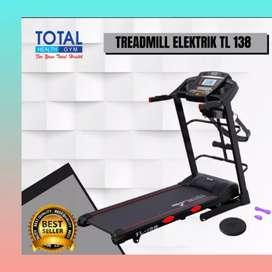 jual treadmill elektrik motorizer TL-138 MG-785 electric tredmil