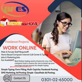 We are looking creative person for home base- simple typing job daily