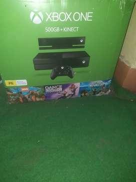 Xbox one+kinect