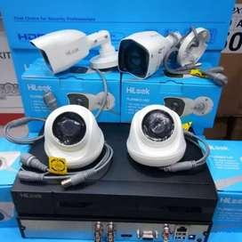 Paket murah + komplit camera cctv