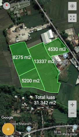 Tanah di Bengkel Sweta dekat GOR