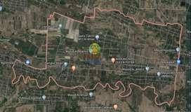 Tanah luas lokasi bendosari, sukoharjo