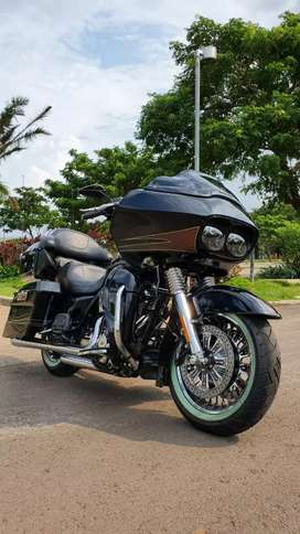 Roadglide Ultra 2013 Black Kondisi istimewa Full Paper Mabua