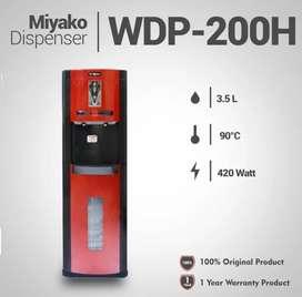 dispenser air miyako panas 90c hot normal galon bawah