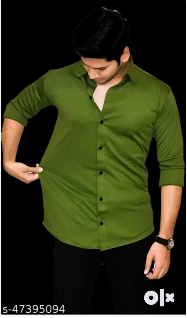 New shirt for man