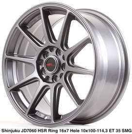 type keren SHINJUKU JD7060 HSR R16X7 H10X100-114,3 ET35 SMG