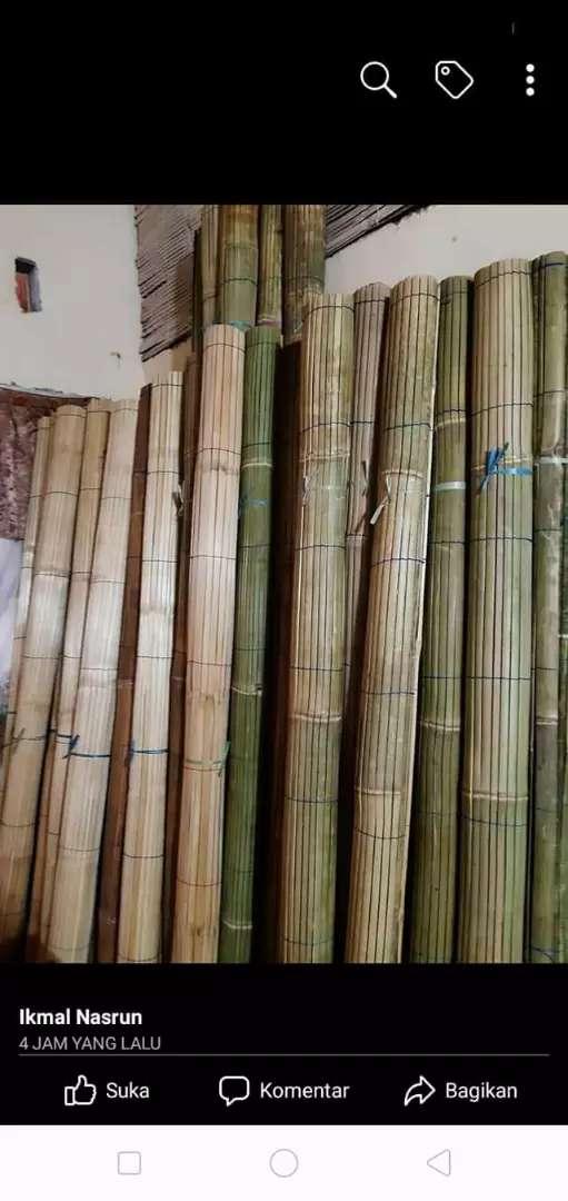 Jual tirai rotan dan tirai bambu 0