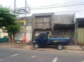 Dijual rumah usaha jalan Semarang surabaya dekat Demak dupak