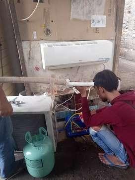 Sedia AC bekas bergaransi 1pk_2pk