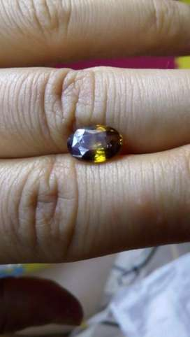 Natural 1,91 Carat Rare Quality Olive Green Sphene Spain