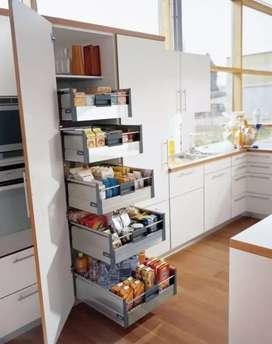 Modular kitchen with lifetime warranty