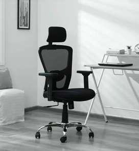 Office Chair or Revolving Chair With Head Rest Brand New