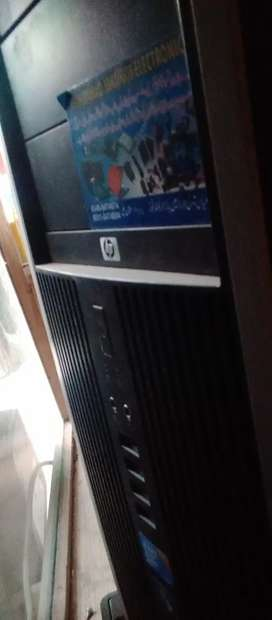 Full system with LCD 17inch hp and hp cpu model 8000 .
