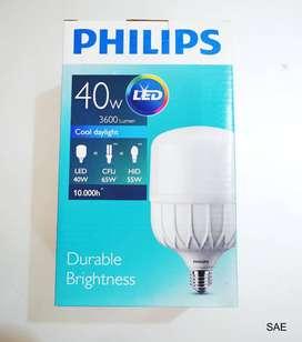lampu led 40 watt philips bergaransi resmi