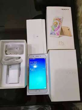 OPPO F1s (Just like new) 3GB RAM, 32GB Disk - Rose Gold