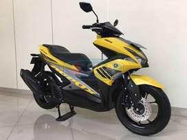 Yamaha Aerox 155 STD Tahun 2018 SKA MOTOR Termurahh